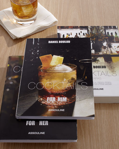 """Cocktails & Tapas"" Book Set"