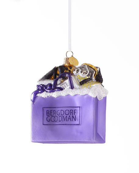"""BG Fashion Bag"" Christmas Ornament"