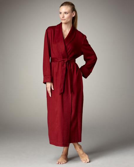 Cashmere Robe, Light Pomegranate
