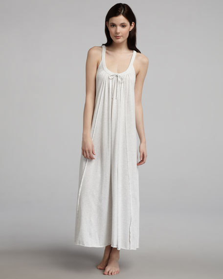 Long Pima Jersey Gown