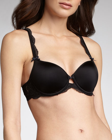 St. Germain T-Shirt Bra, Black