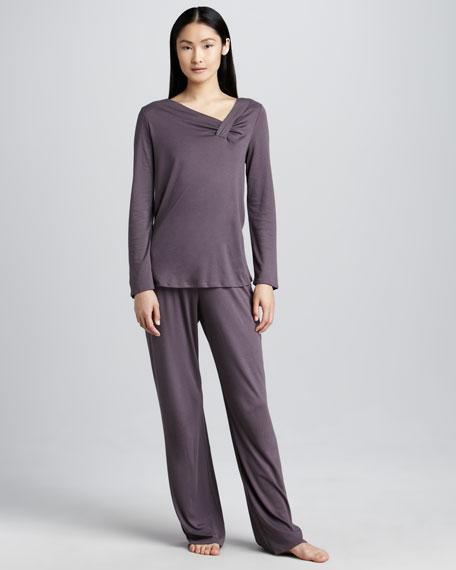 Nora Asymmetric Pajamas