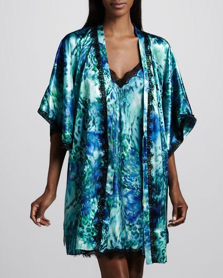 Oceanscape Robe, Short