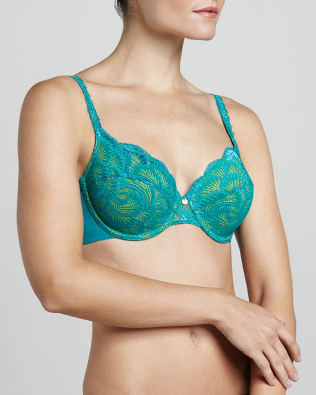 Natori Fatale Full-Fit Underwire Bra, Surf/Glow