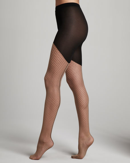 Neptune Circle-Lace Tights