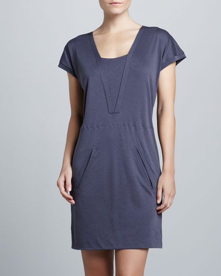 Talulah Lounge Dress, Shadow