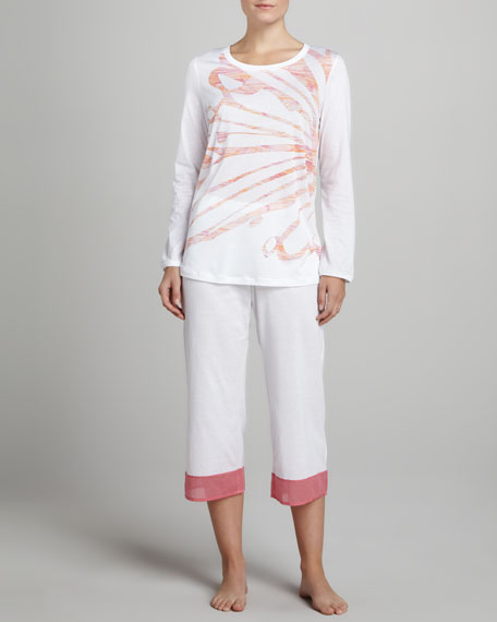 Anabella Cropped Pajamas