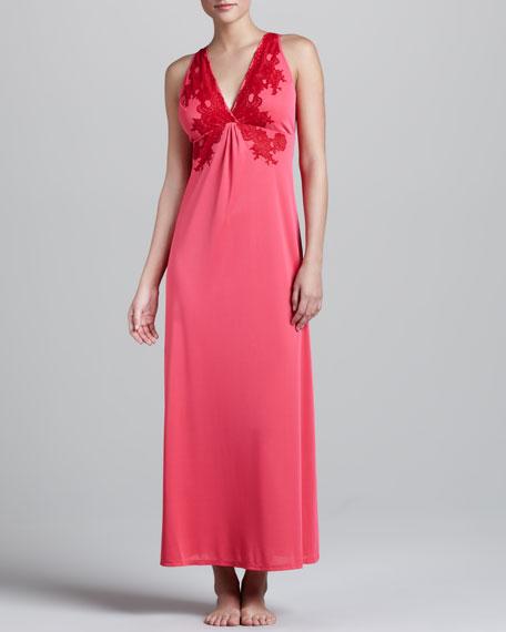 Enchant Lace-Trim Gown