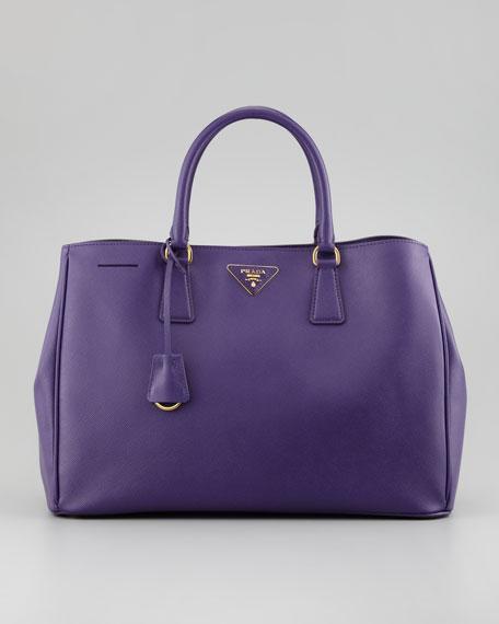 Saffiano Gardner's Tote Bag, Purple