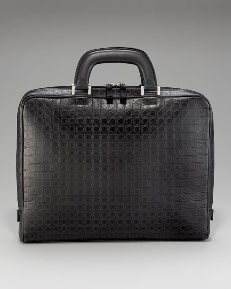 Gamma One-Gusset Briefcase