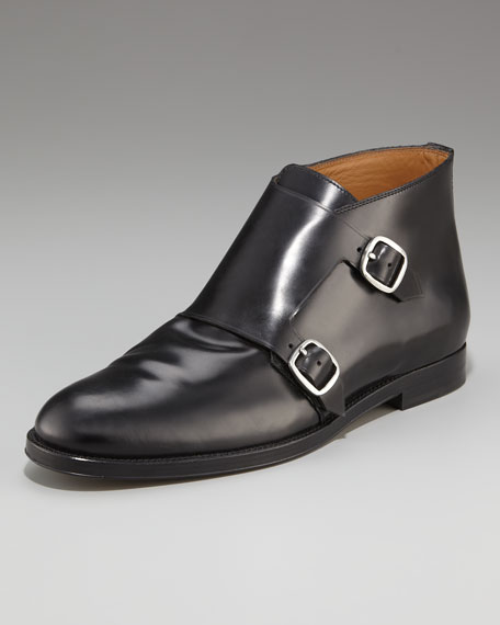 Double Monk-Strap Boot