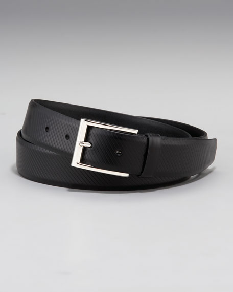 Vitello Lux Textured Belt