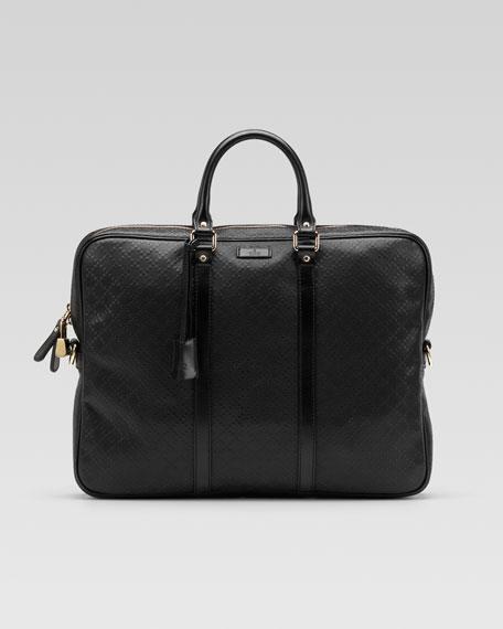 Diamante Leather Briefcase