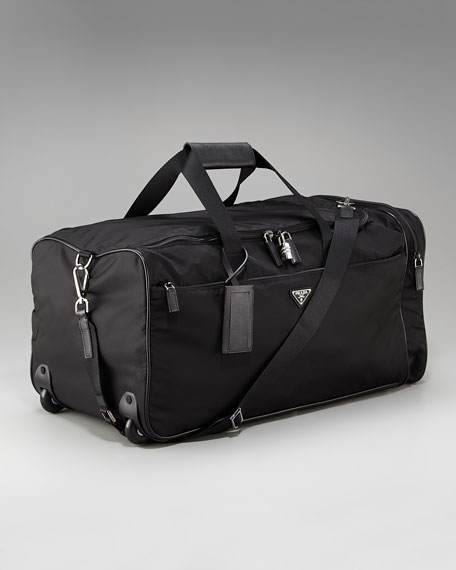 Rolling Nylon Duffel Bag