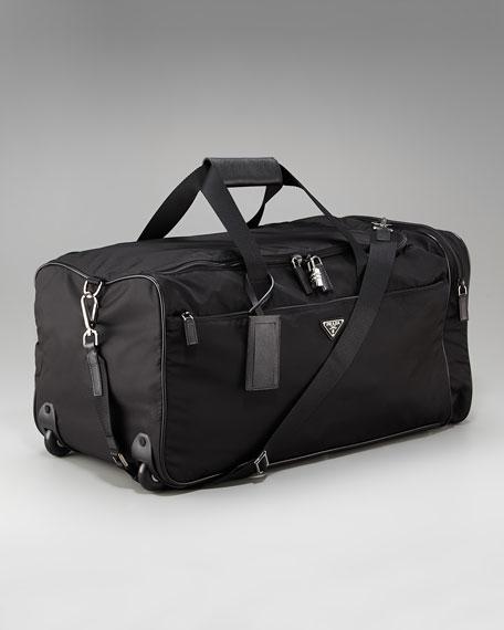 Rolling Nylon Duffel Bag