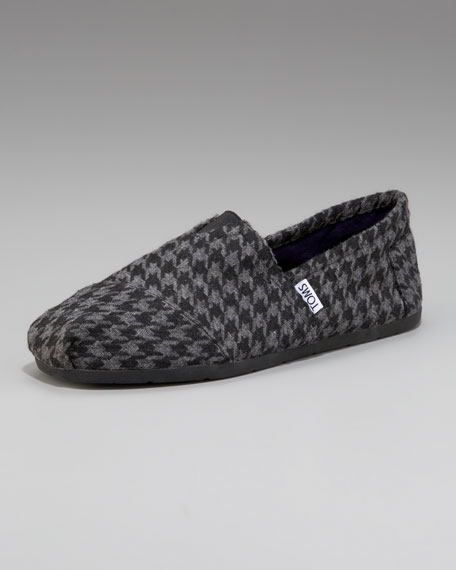 Hatcher Houndstooth Slip-On