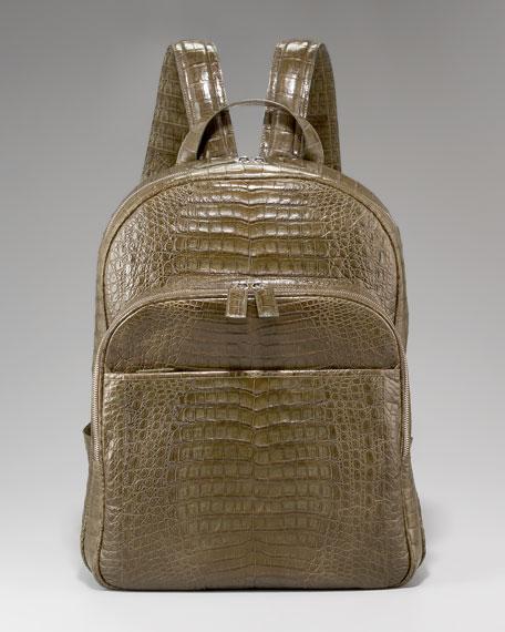 Crocodile Backpack, Khaki