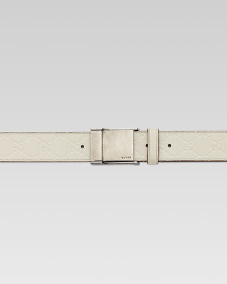 Adjustable Plaque Belt, Ice