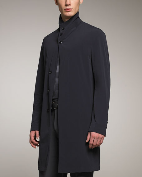 Lightweight Caban Coat