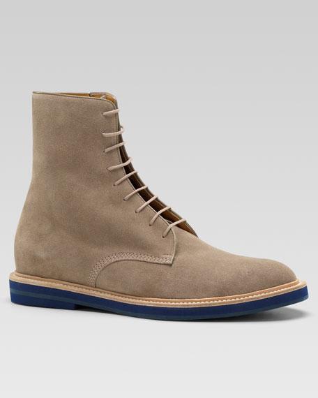 Gau Suede Side-Zip Boot