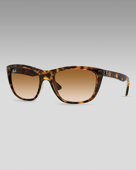 Polarized Square Plastic Sunglasses