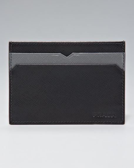 Saffiano Card Case