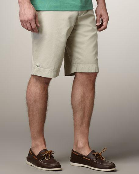 Classic Bermuda Shorts, Twine Beige