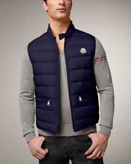 Guide Puffer Vest, Ink Blue