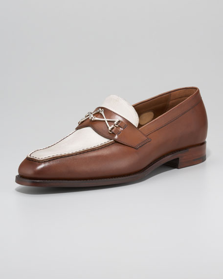 Wolfe Two-Tone Loafer