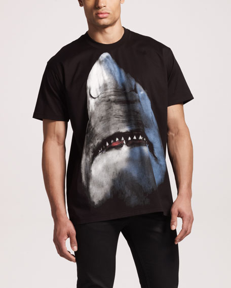 Shark-Print Tee