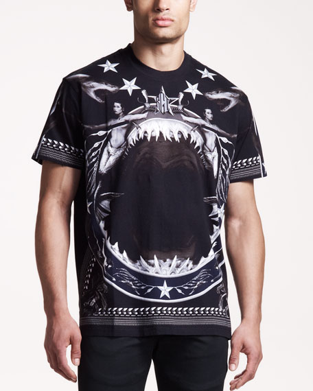 Shark & Mermaid Tee