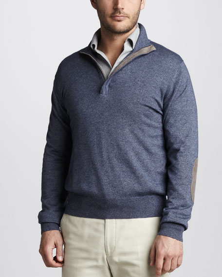 Mezzocollo Zip Sweater