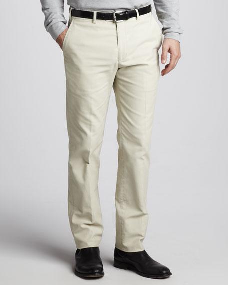 Classic Dexter Barre Pants, Plaster Melange
