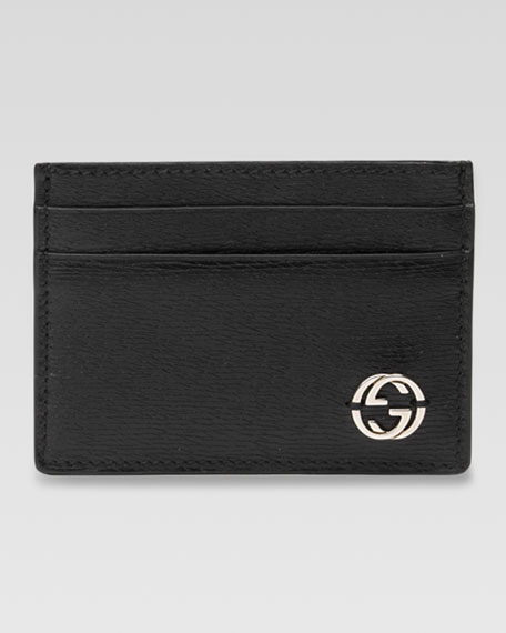 Interlocking G Card Case