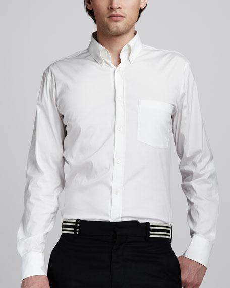 Stretch-Poplin Shirt