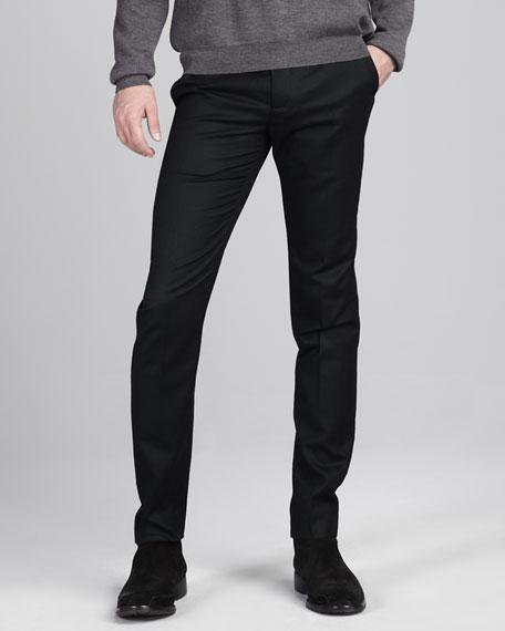 Waist-Detail Skinny Pants