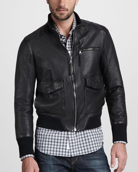 Hughes Leather Jacket
