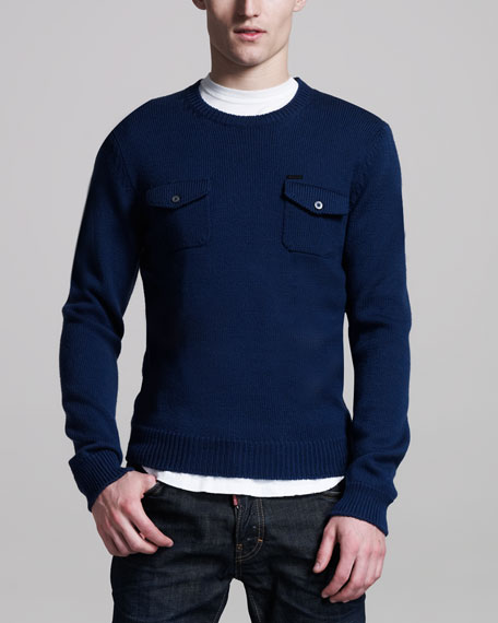Two-Pocket Sweater