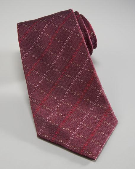 Gancini-Diamond Tie