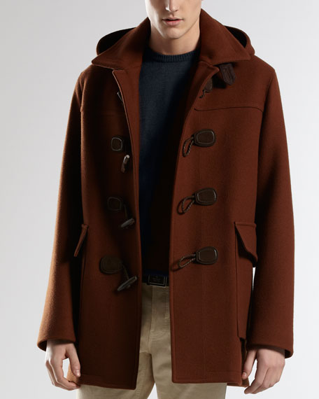 Montgomery Jacket with Detachable Hood