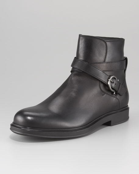 Calder Harness-Strap Boot