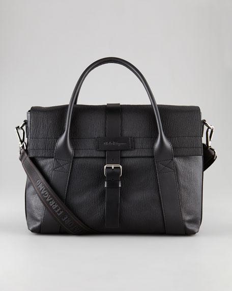 Alpha Leather Briefcase