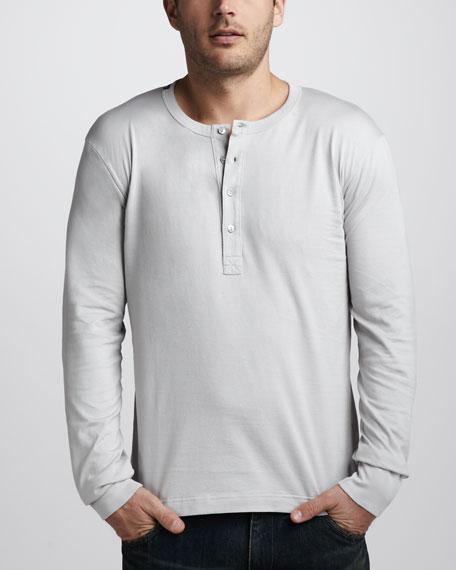 Long-Sleeve Henley