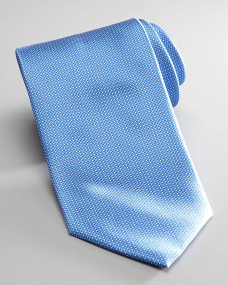 Mini-Grid Tie, Light Blue