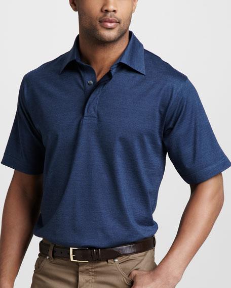Stretch-Cotton Polo