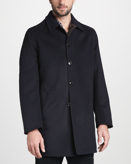 Short Reversible Overcoat