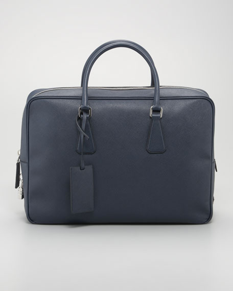 Large Saffiano Briefcase