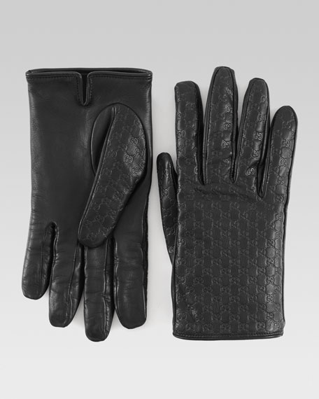 Men's Gloves, Black