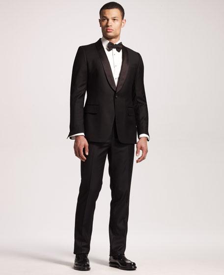 9448975dc98 Yves Saint Laurent Shawl-Collar Tuxedo Jacket