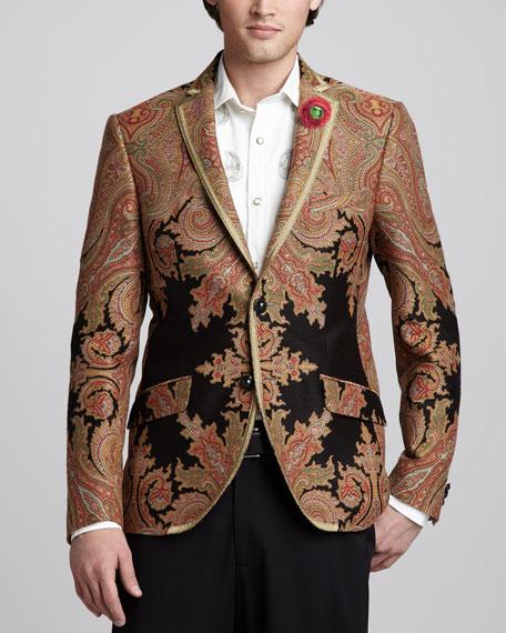 Paisley Evening Jacket